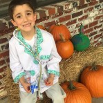 """Red ribbon week: Monday – """"My science future is bright, no drugs in sight!"""" Dr. Aiden"""