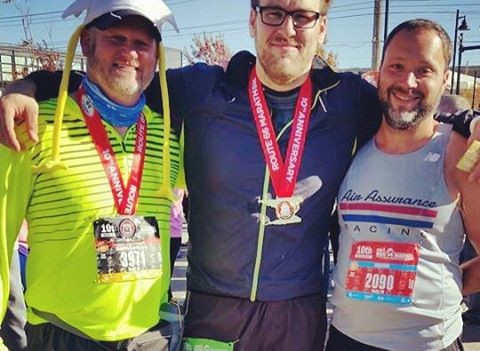 Running 26.5 miles is really hard. That is all. Congrats to Jeff on his fast PR, Geoff for completing his 16th marathon an my first.